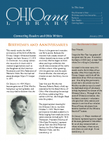 Jan 2014 Ohioana Newsletter