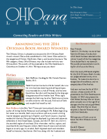 July 2014 Ohioana Newsletter