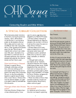 June 2014 Ohioana Newsletter