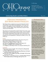 May 2014 Ohioana Newsletter