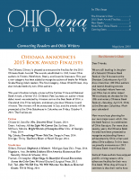 May June 2015 Ohioana Newsletter