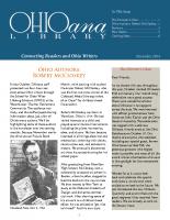 Nov 2014 Ohioana Newsletter