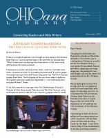 Nov 2015 Ohioana Newsletter