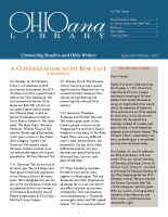 Sept Oct 2014 Ohioana Newsletter