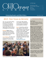 Dec 2015 Ohioana Newsletter
